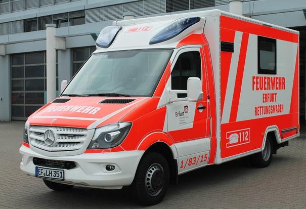Schwerlast-Rettungswagen
